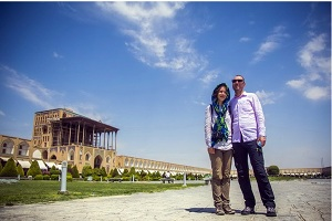 Isfahan marks monthly record for tourist visits