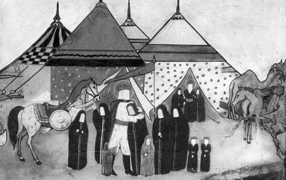 P moharam 3 نقاشی محرم کودکانه